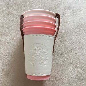Starbucks Sakura Stacking Cup Set